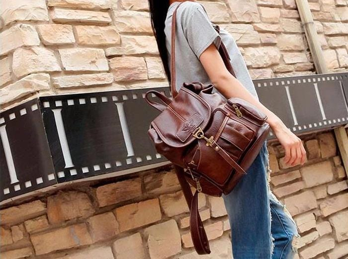 The Vintage' Leather Bag!