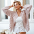 2018 Fashionable Women Sweaters collection -  Hairball knitted  long sleeve pink cardigan
