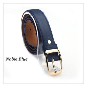 2018 Fashionable Women Belts collection - Metal Buckle Straps Belts