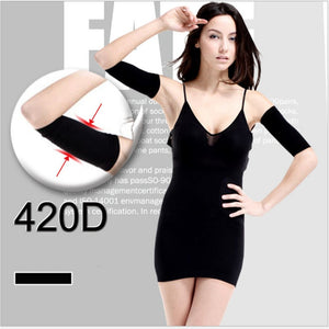 2018 Fashionable Women Shapewear collection - High Elasticity Arm Slimmer Shaper 100% Cotton