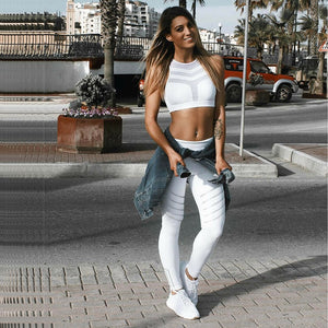 2018 Fashionable Women Yoga Gear collection - Night Glowing Quick Dry Yoga Pants