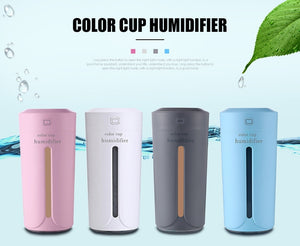 Electric Ultrasonic Air Essential Oil Diffuser Humidifier (7 Color Lights, USB)