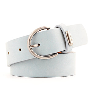 2018 Fashionable Women Belts collection - Pin buckle belts