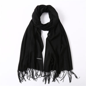 2018 Fashionable Women Scarves collection - Thin solid scarves