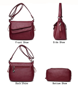 Luxury Women  Handbags collection - Genuine Leather Shoulder Bags