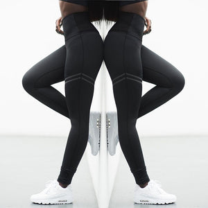 2018 Fashionable Women Yoga Gear collection - High Elastic Slim Running Yoga Pants
