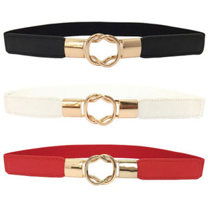 2018 Fashionable Women Belts collection - Waist Band Thin Elastic Belts