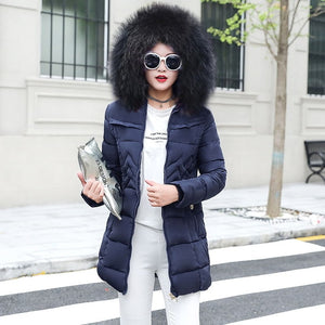 2018 Fashionable Women Coats & Jackets collection - Winter Collar Warm Down coats