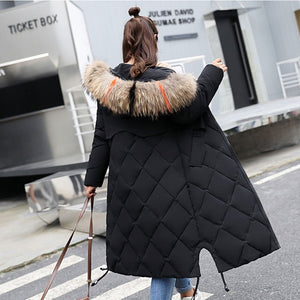 2018 Fashionable Women Coats & Jackets collection - Big Fur Hooded Winter Warm Winter Parka Jackets