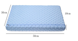 Latex sleeping orthopedic pillow with slow rebound memory foam