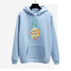 2018 Fashionable Women Hoodies collection - OH YES. Long sleeves Print pink hoodies