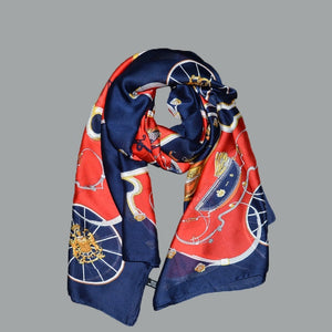 2018 luxury Women Scarves collection - Silk Scarves 180x90cm