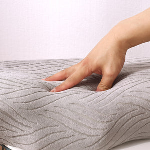 Butterfly cervical orthopedic pillow with slow rebound memory foam