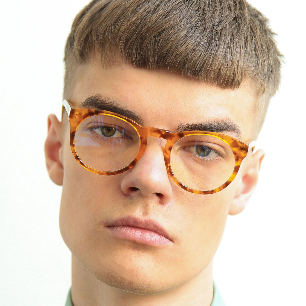 "Tortoise Classical Shape Eyewear  ""SHARP"""