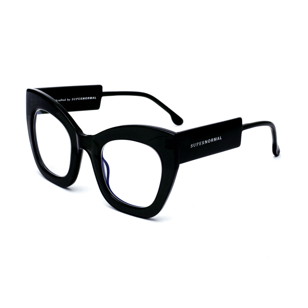 "Black Oversized Eyewear  ""AMBITIOUS"""