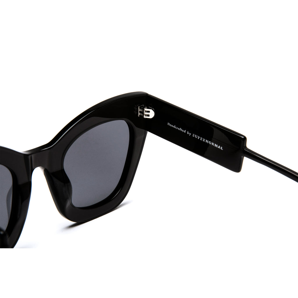 "Black Oversized Sunglasses  ""AMBITIOUS"""