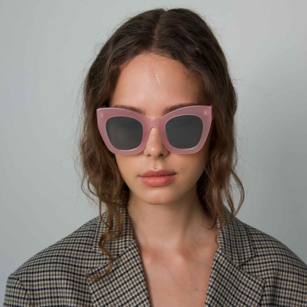 AMBITIOUS Pink frame + Mirrored lenses
