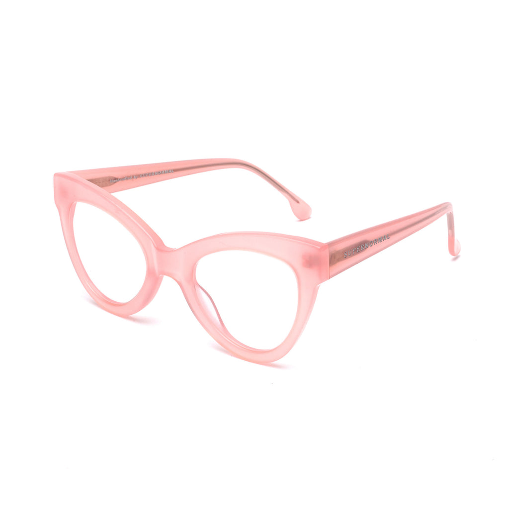 "Pink Cat-Eye Computer Glasses ""MAGNETIC"""