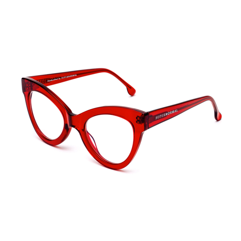 MAGNETIC Red Computer Glasses