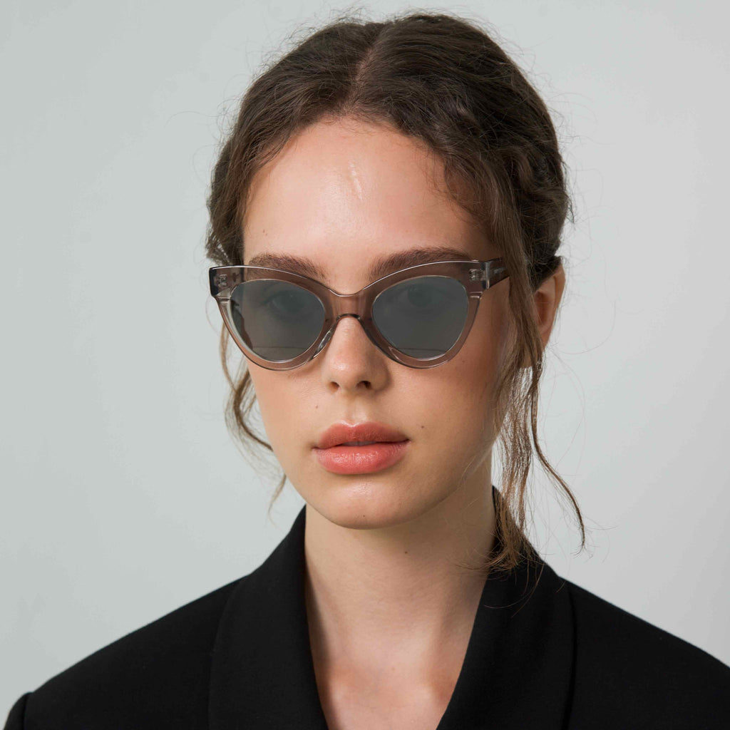 MAGNETIC Transparent frame + Mirrored lenses