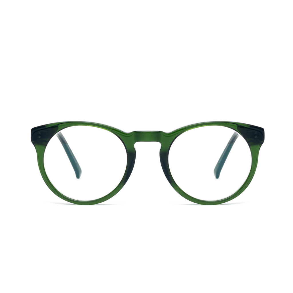 SHARP Green Computer Glasses