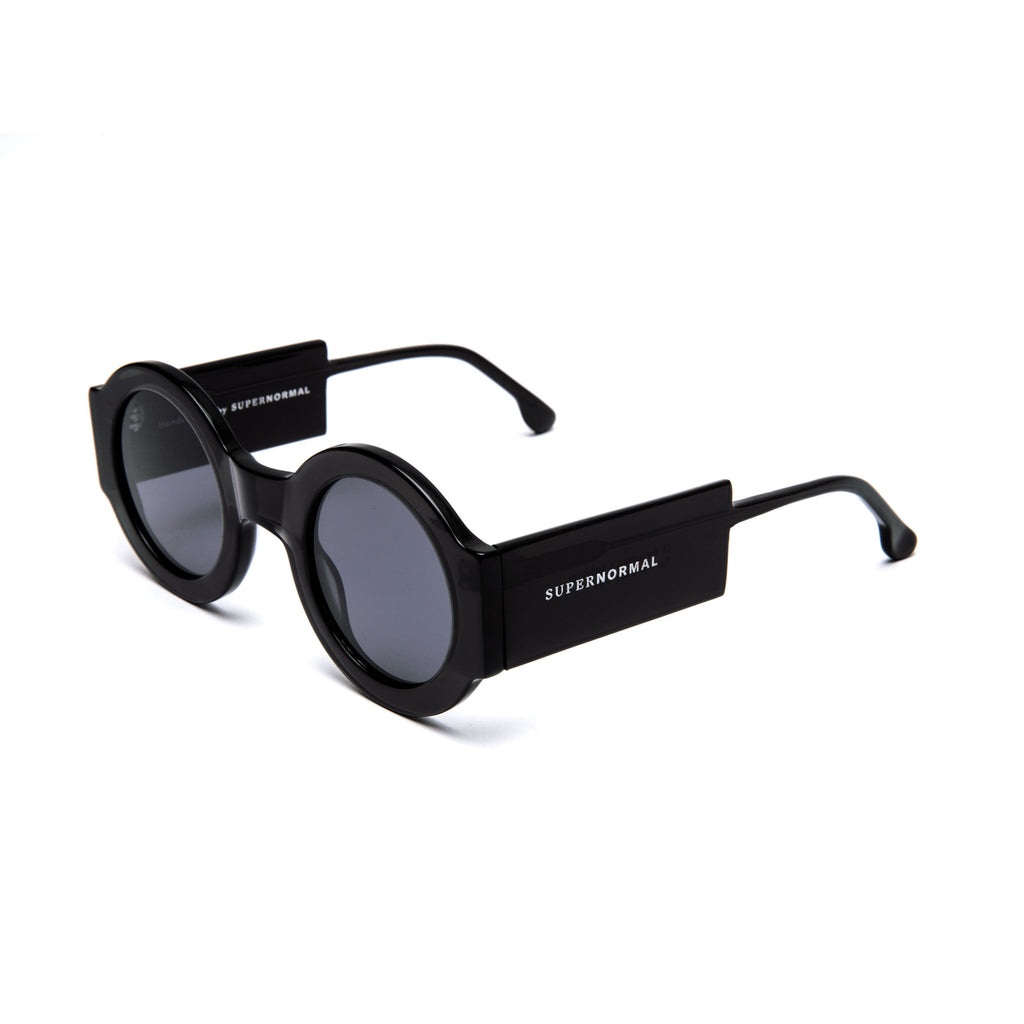 "Black Round Sunglasses  ""SPONTANEOUS"""
