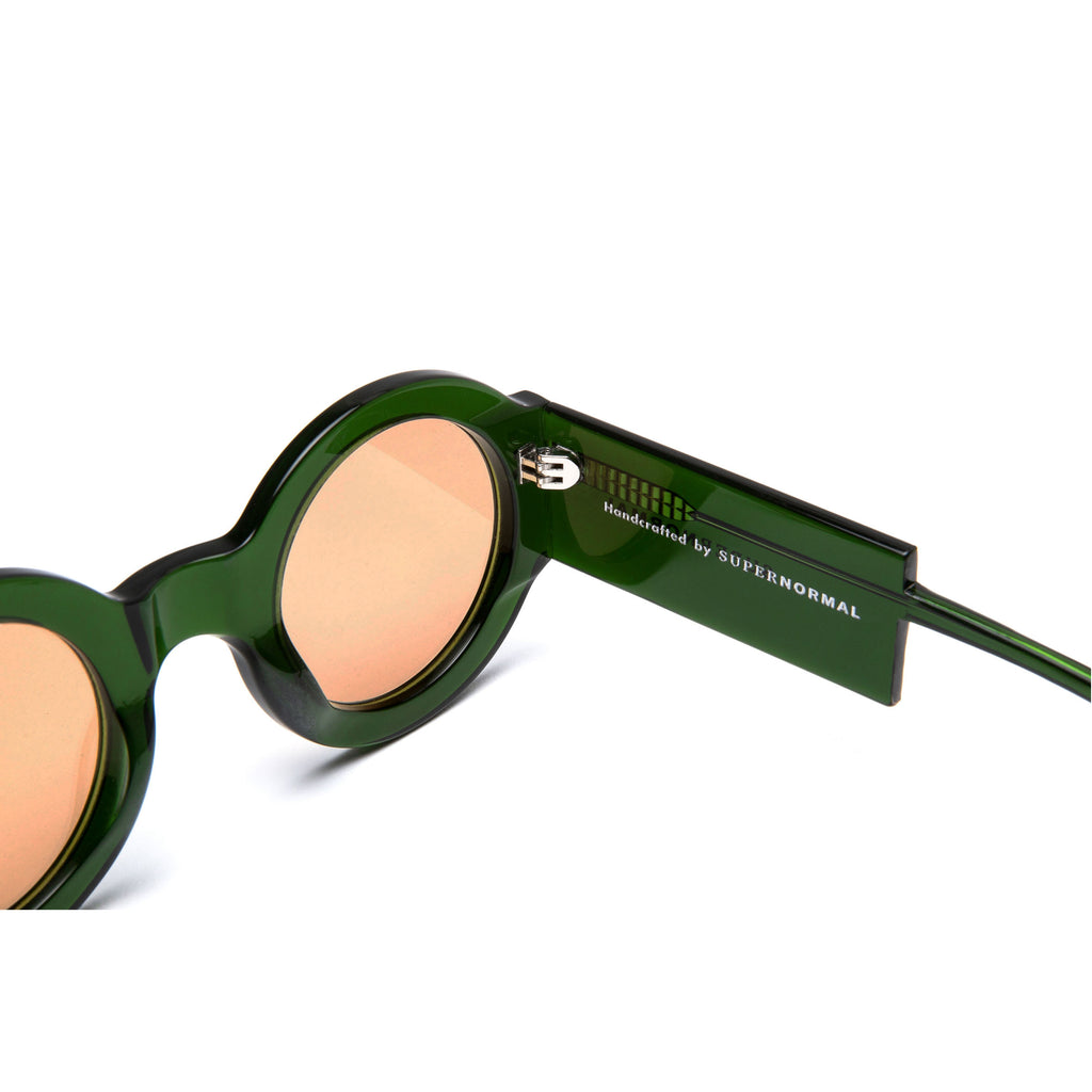 SPONTANEOUS Green frame + Amber lenses