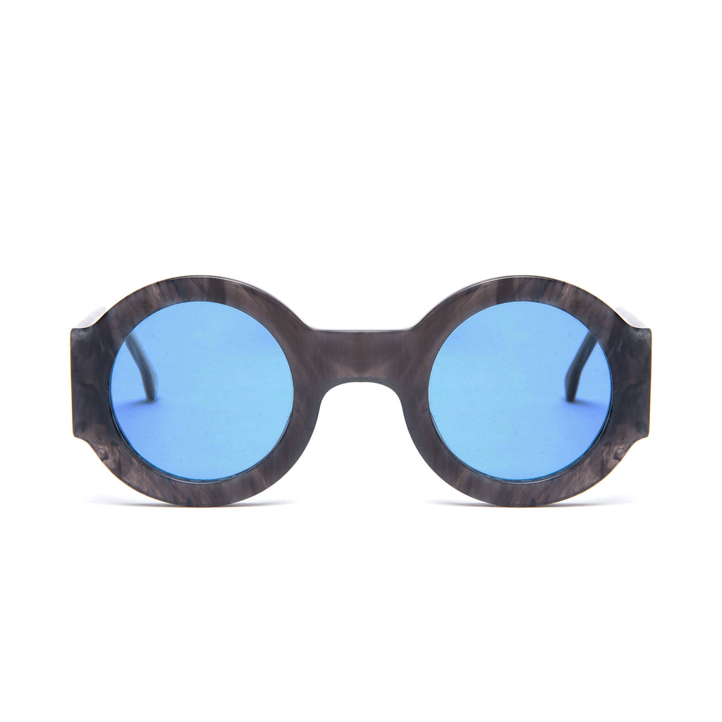SPONTANEOUS Grey frame + Blue lenses