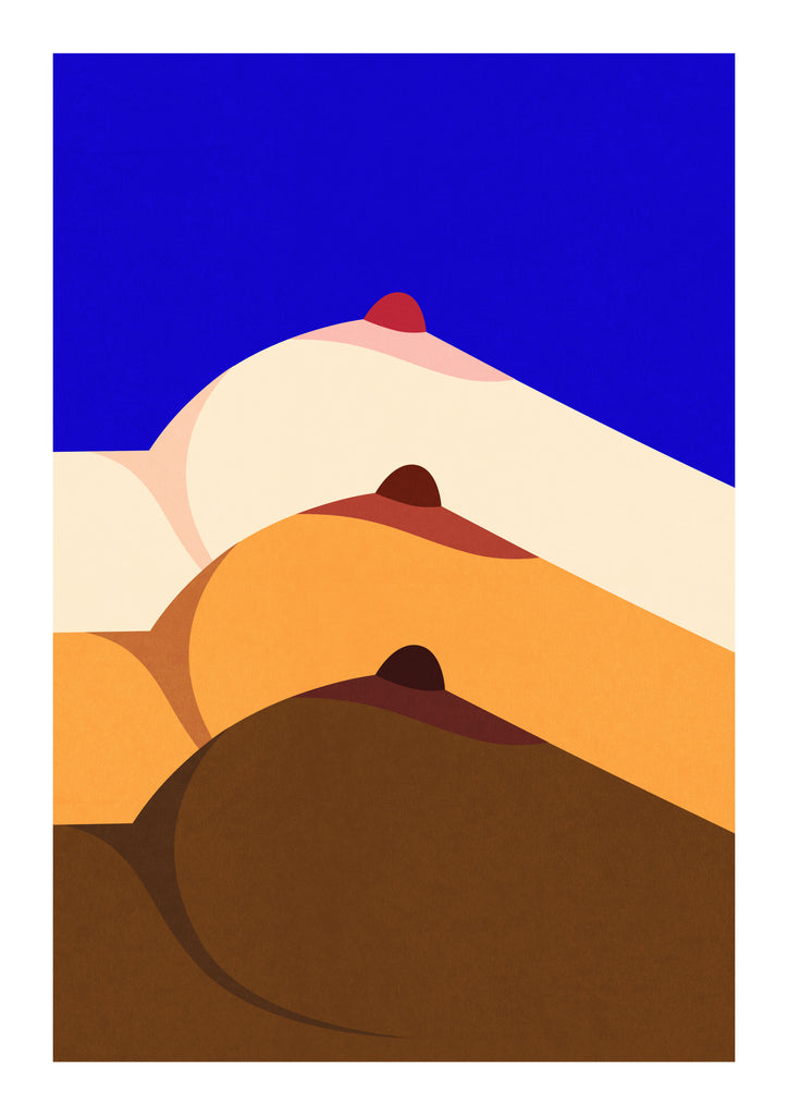 """Supernormal Nipples"" Art Print Print - supernormal"