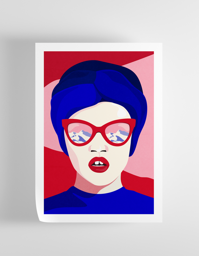 """Magnetic"" Art Print Print - supernormal"