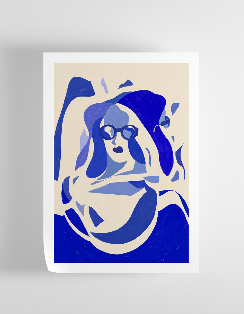 """Spontaneous"" Art Print Print - supernormal"