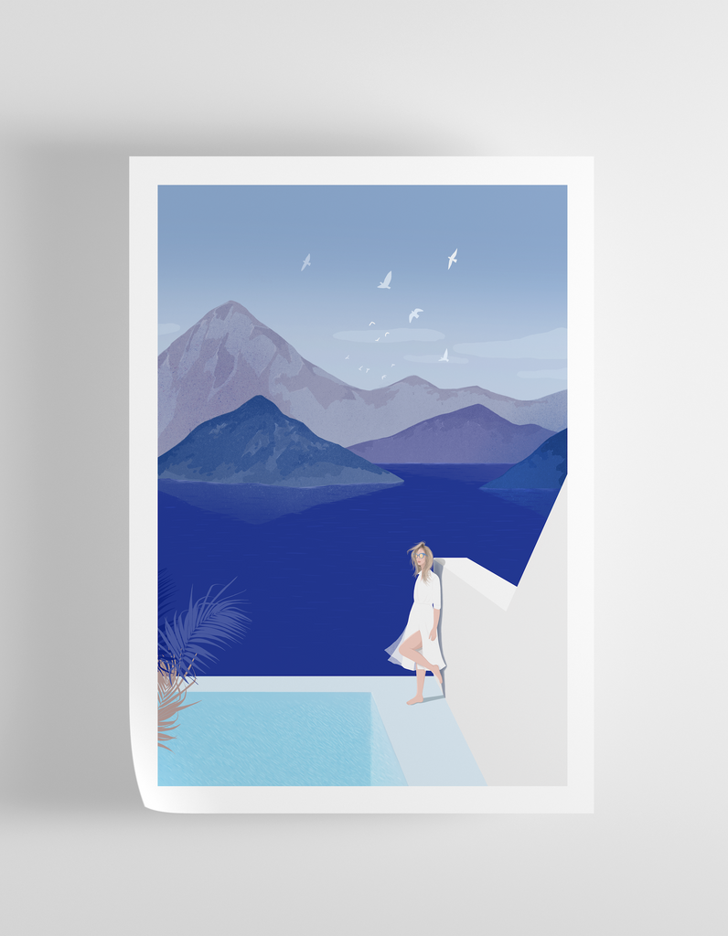 """Curious"" Art Print Print - supernormal"