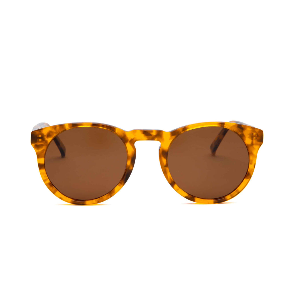 SHARP Tortoise frame + Brown lenses