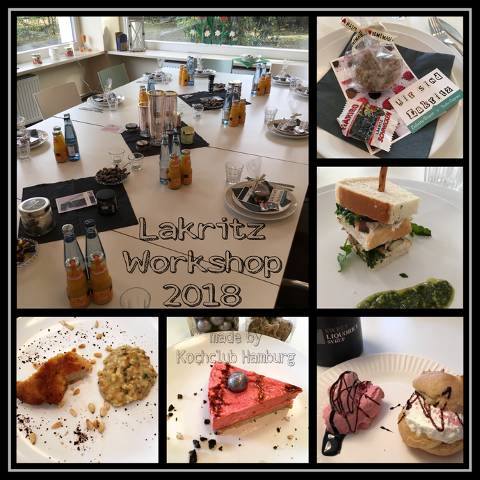 Lakritz Workshop / €15,00