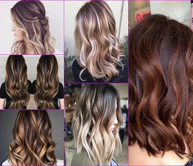 8 wonderful ideas from brown hair with blonde extensions