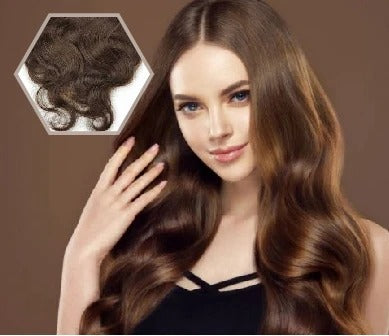 Why should you choose Apostore's dark brown wavy hair extensions?