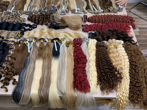 Apostore's deep curly weave hair extensions