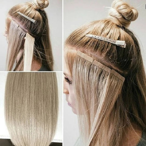 tape hair extensions installation
