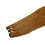 Weft straight light brown hair VD2
