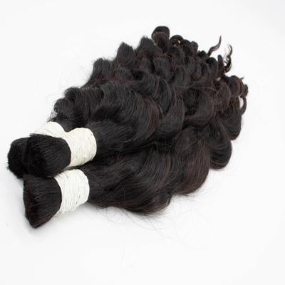 Bulk body wavy black hair VD2