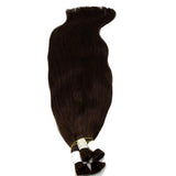 Bulk straight black hair extensions VD2