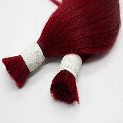 Bulk straight hair red color VD2