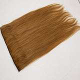 Clip in straight light brown hair