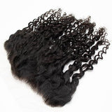 Lace frontal romantic curly black hair