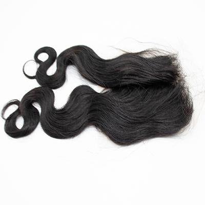 Lace frontal water body wavy black hair
