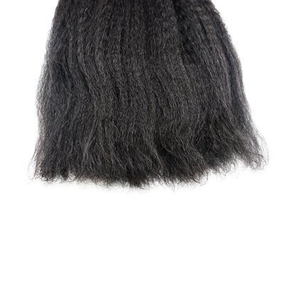 weft kinky straight black hair VS1