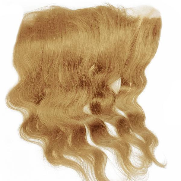 Lace frontal body wavy blonde color #60, #60C