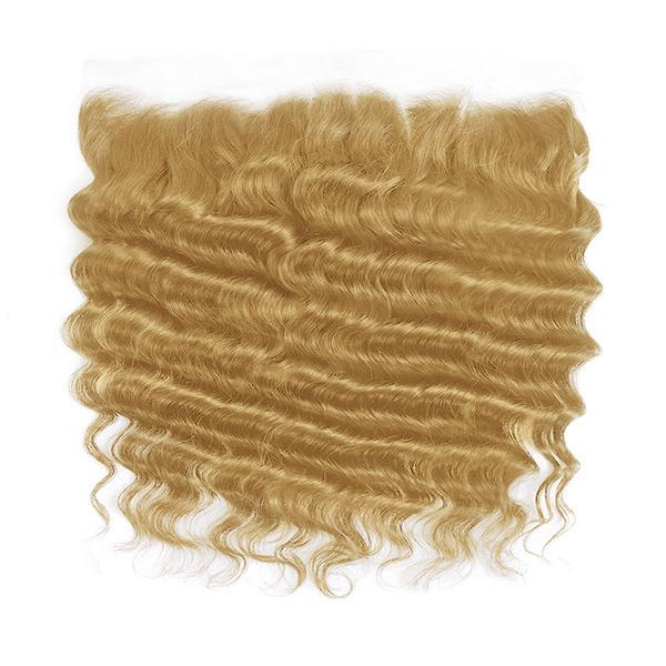 Lace frontal straight blonde color #14, #16