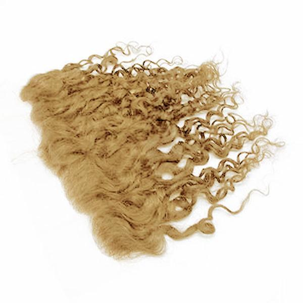 Lace frontal romantic curly blonde color #60, #60C