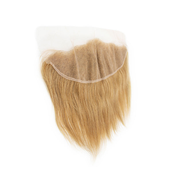 Lace frontal straight blonde hair